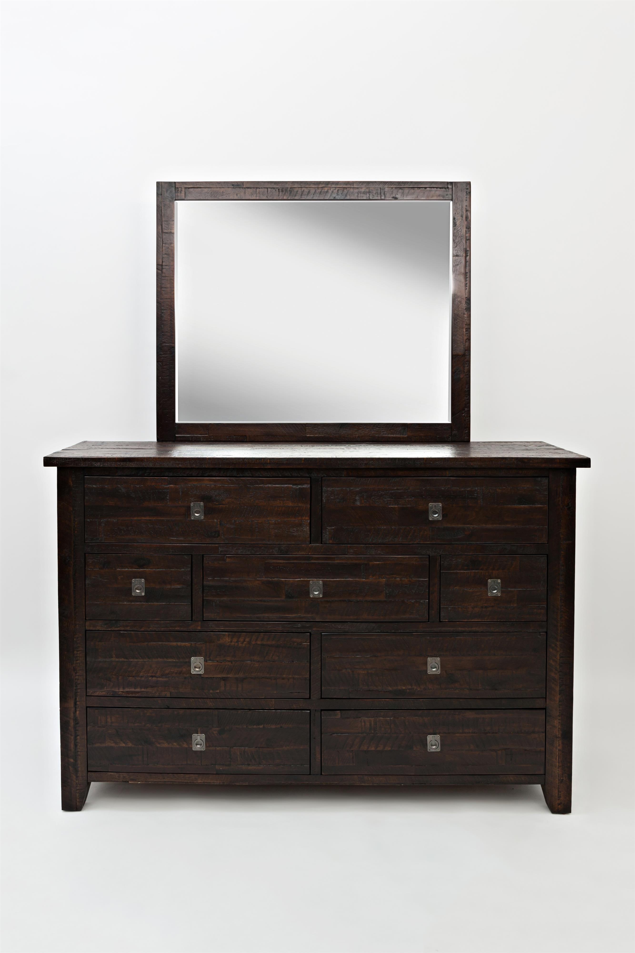 Kona Grove Dresser and Mirror by Jofran at Fine Home Furnishings