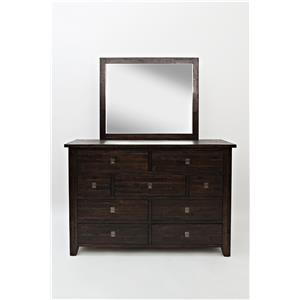 Jofran Kona Grove Kona Grove Dresser and Mirror