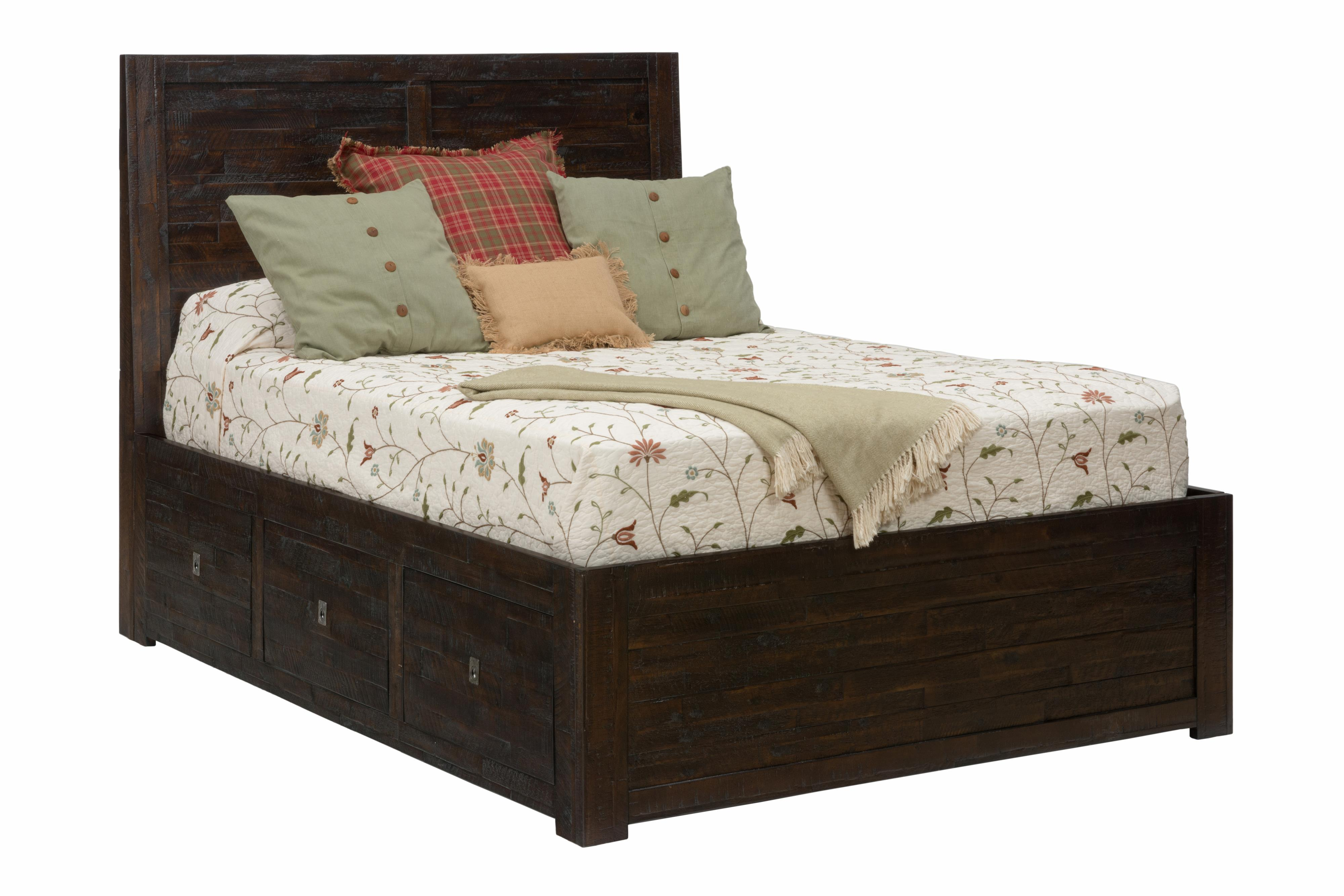 Kona Grove Queen Storage Bed by Jofran at Zak's Home