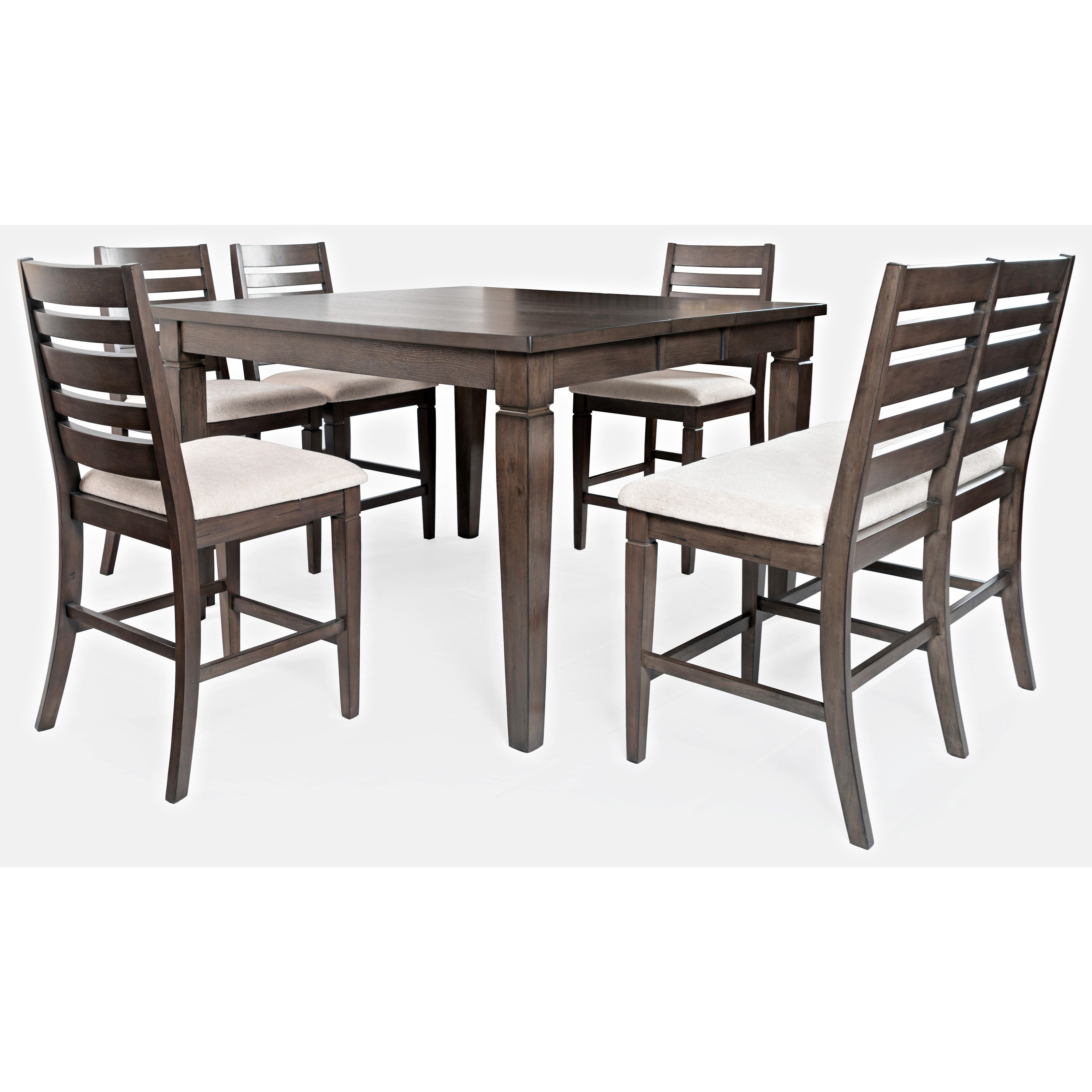 Lincoln Square Counter Height Table and Chair Set by Jofran at Zak's Home