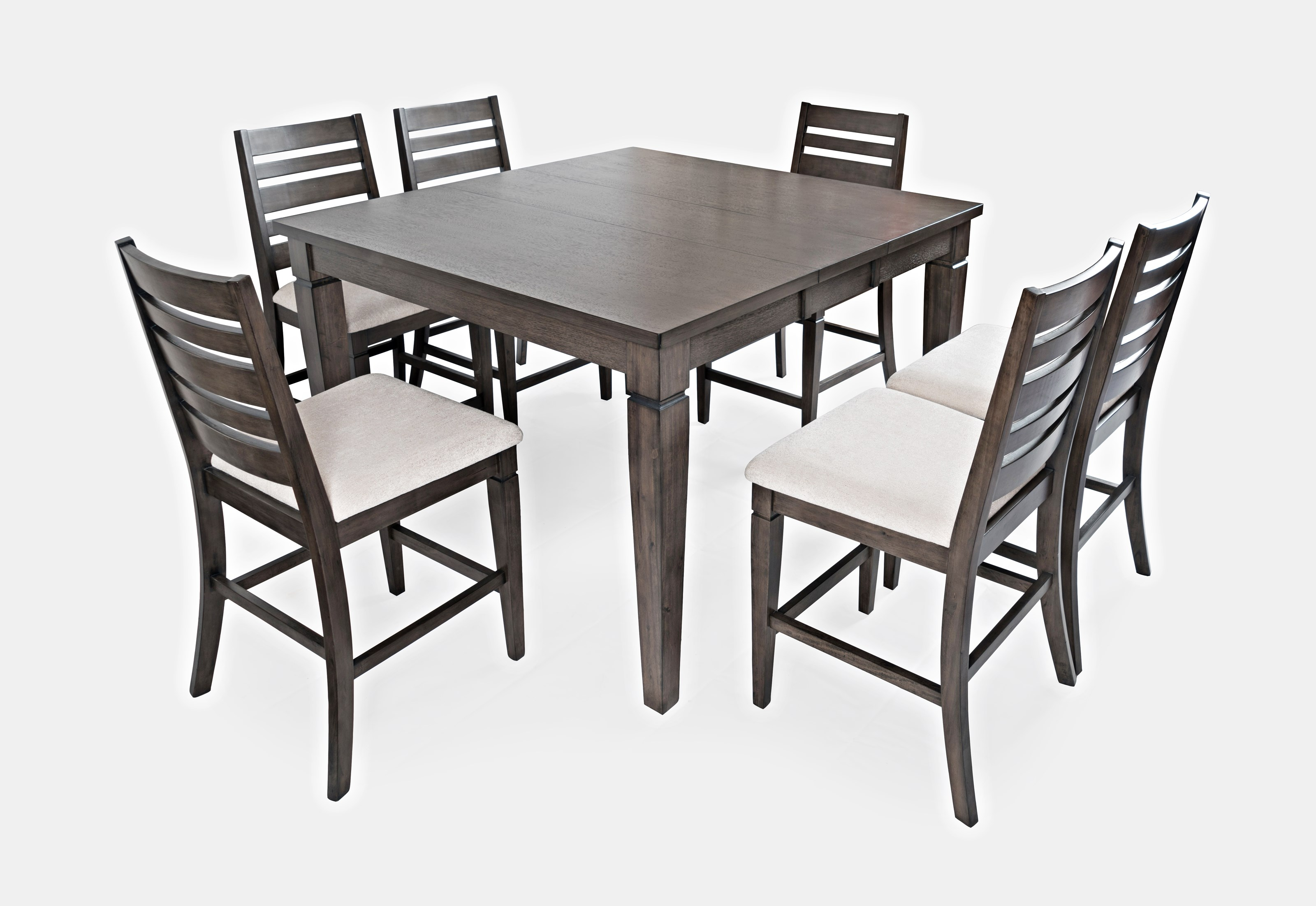 Lincoln Square Counter Height Table and Chair Set by Jofran at Jofran