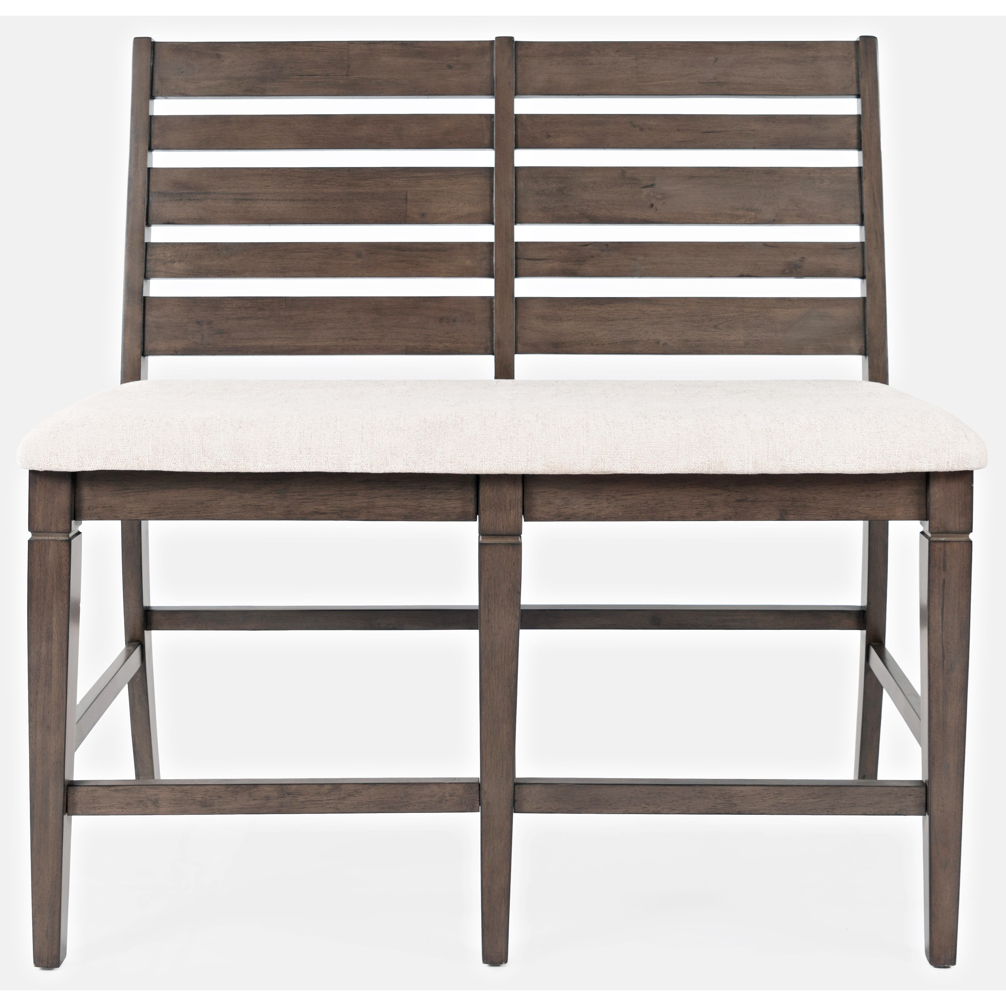 Lincoln Square Counter Bench by Jofran at Stoney Creek Furniture