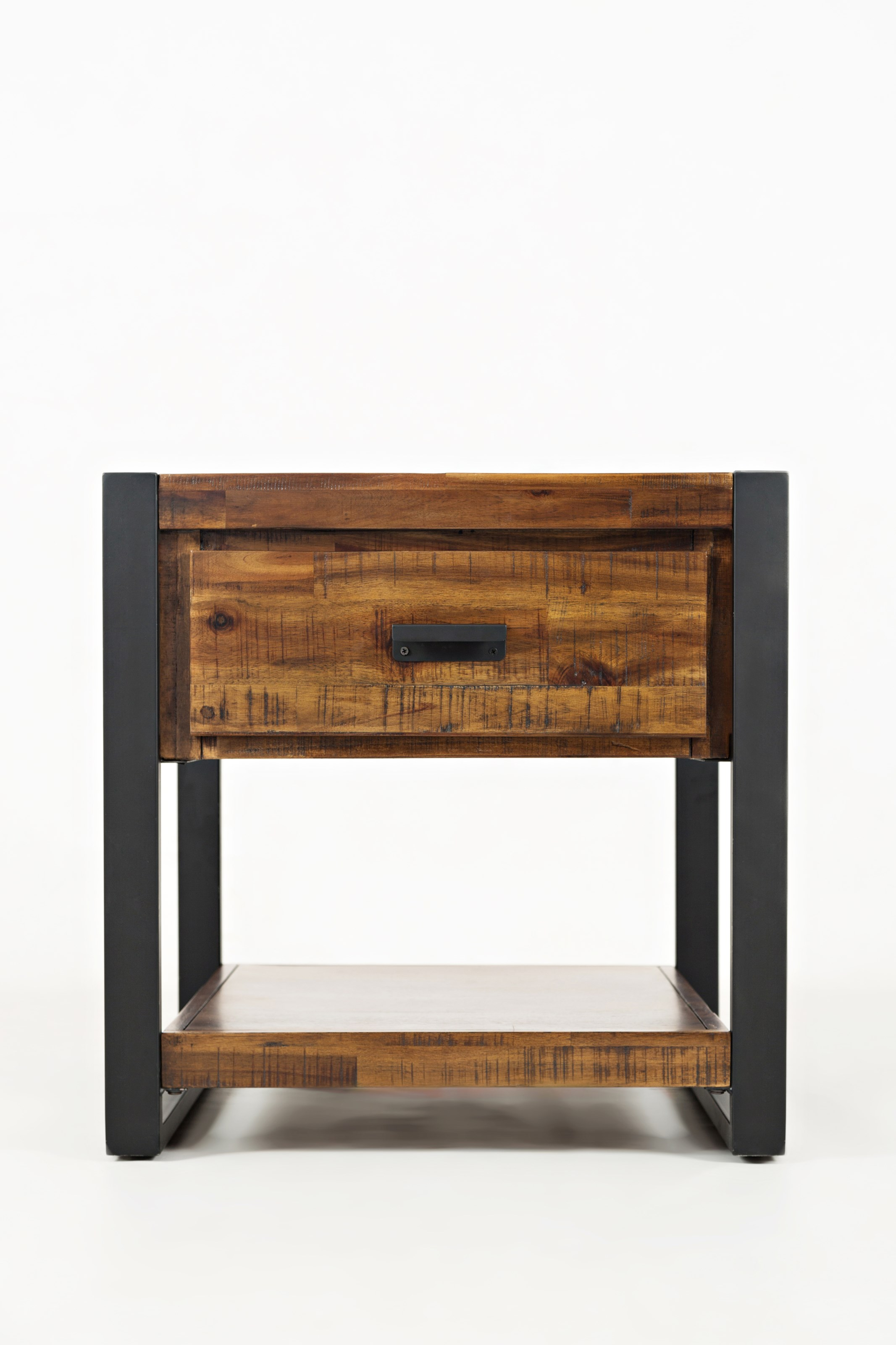 Loftworks End Table with Drawer by Jofran at Sparks HomeStore