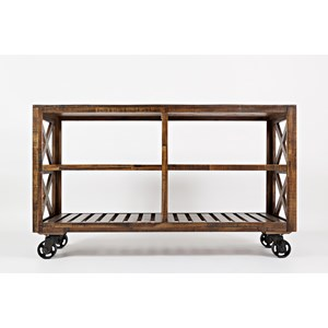 "Jofran Loftworks 54"" Trolley Cart"