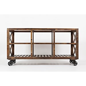 "Jofran Loftworks 60"" Trolley Cart"