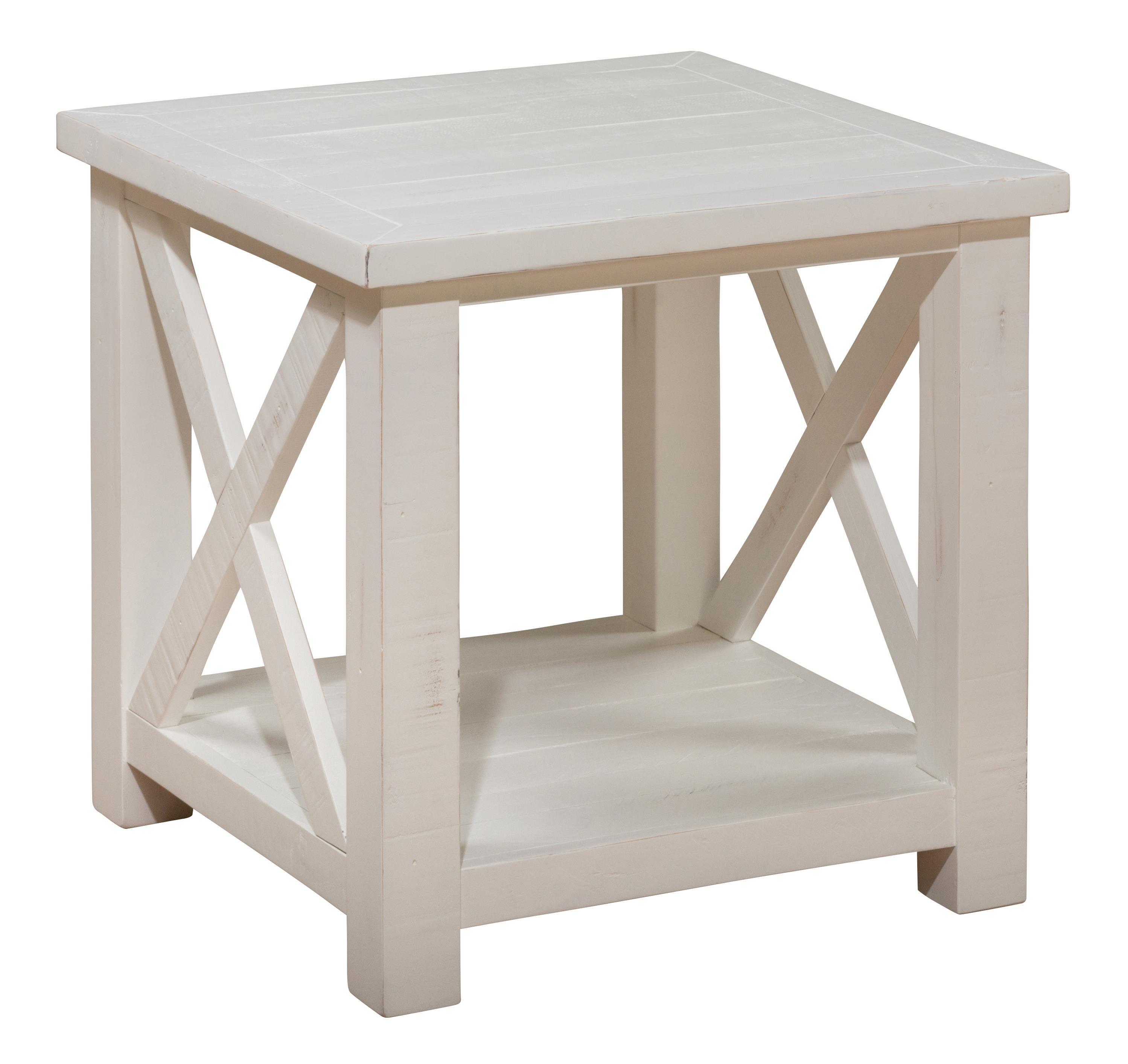 Madaket Reclaimed Pine End Table by Jofran at Johnny Janosik
