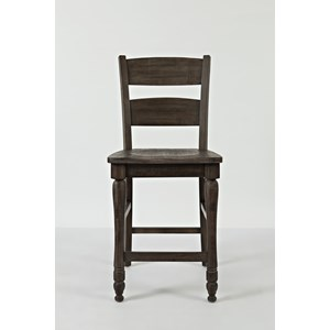 Ladderback Counter Stool