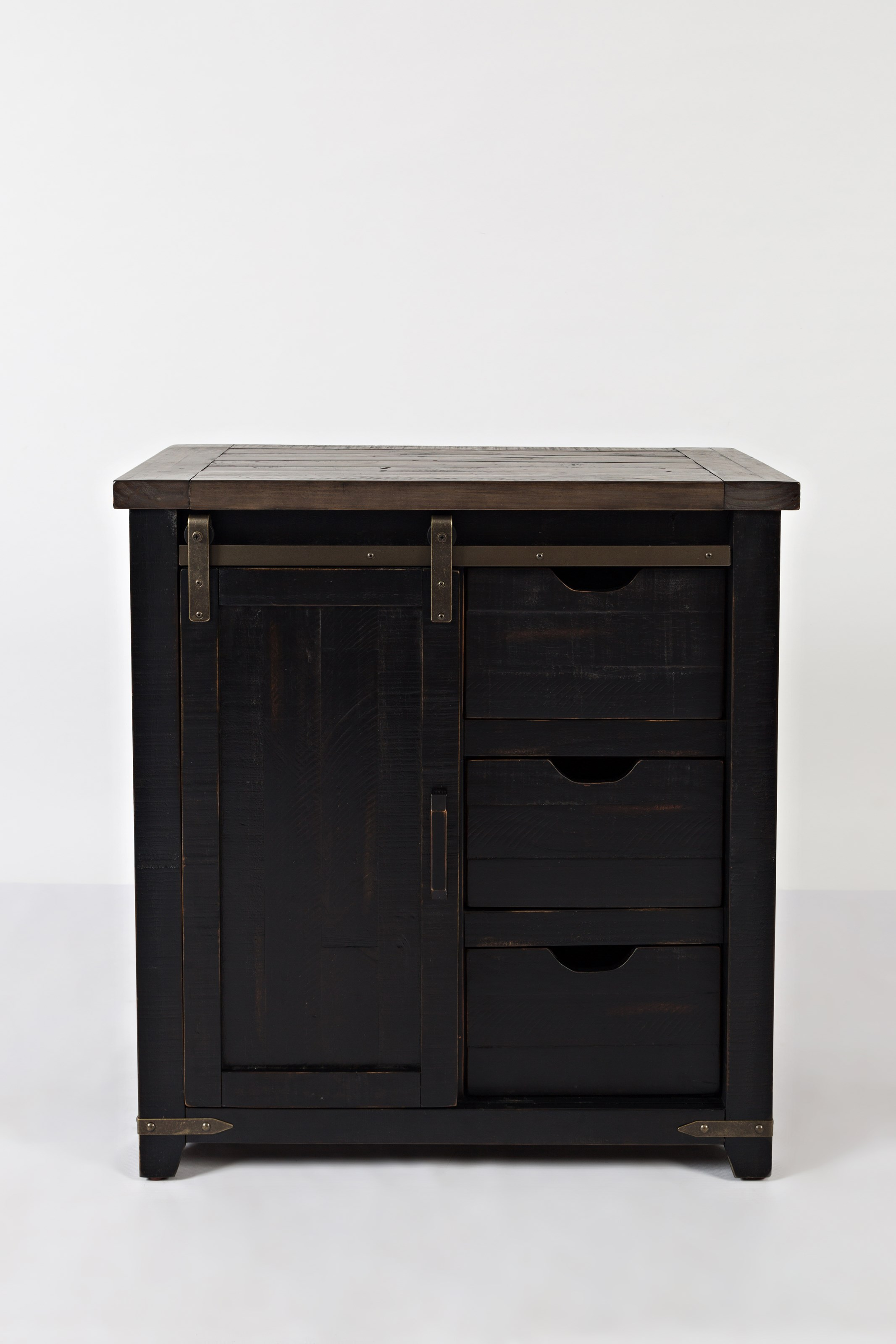 Canton Black Accent Cabinet at Walker's Furniture
