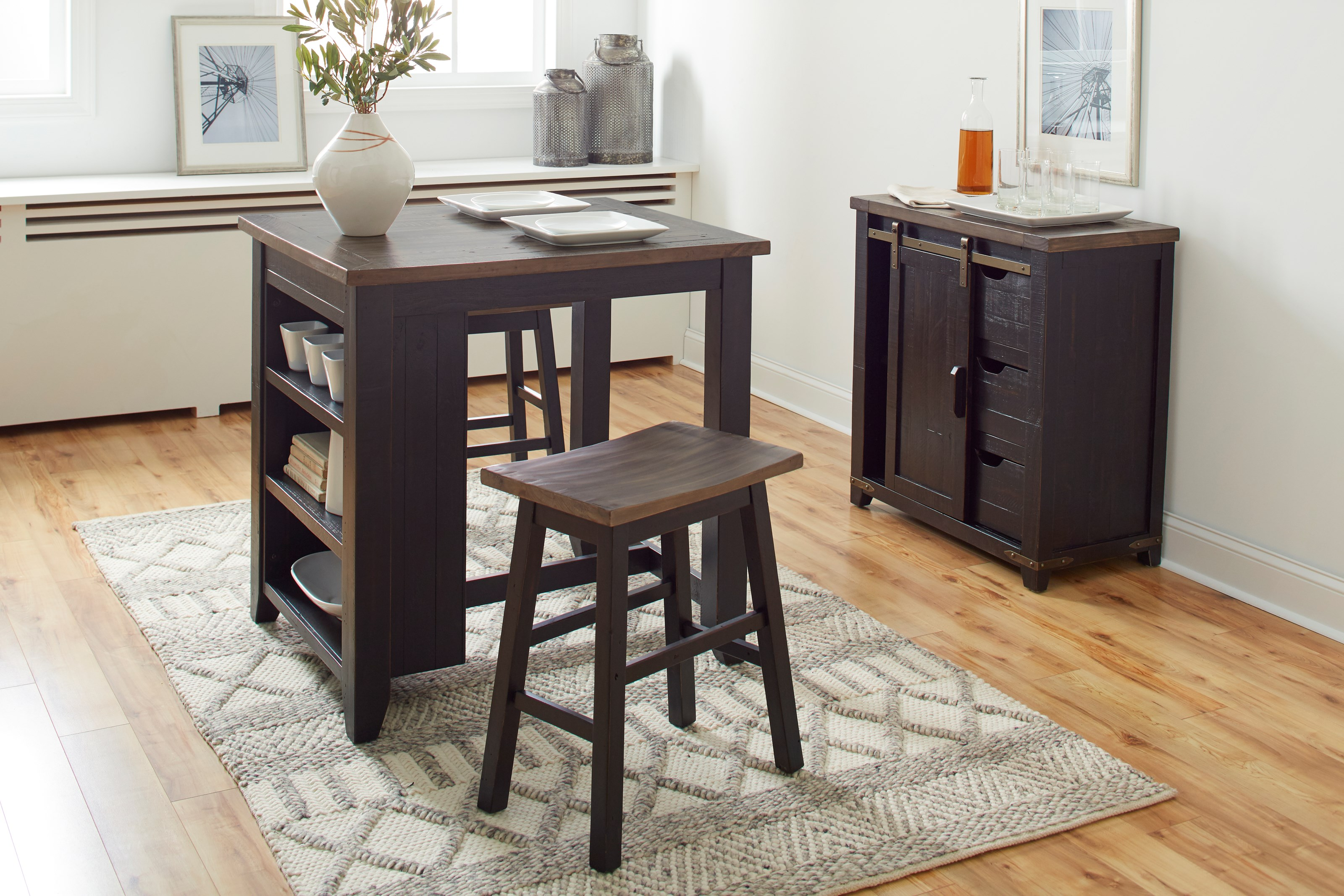 Madison County Counter Height Table Set by Jofran at Sparks HomeStore
