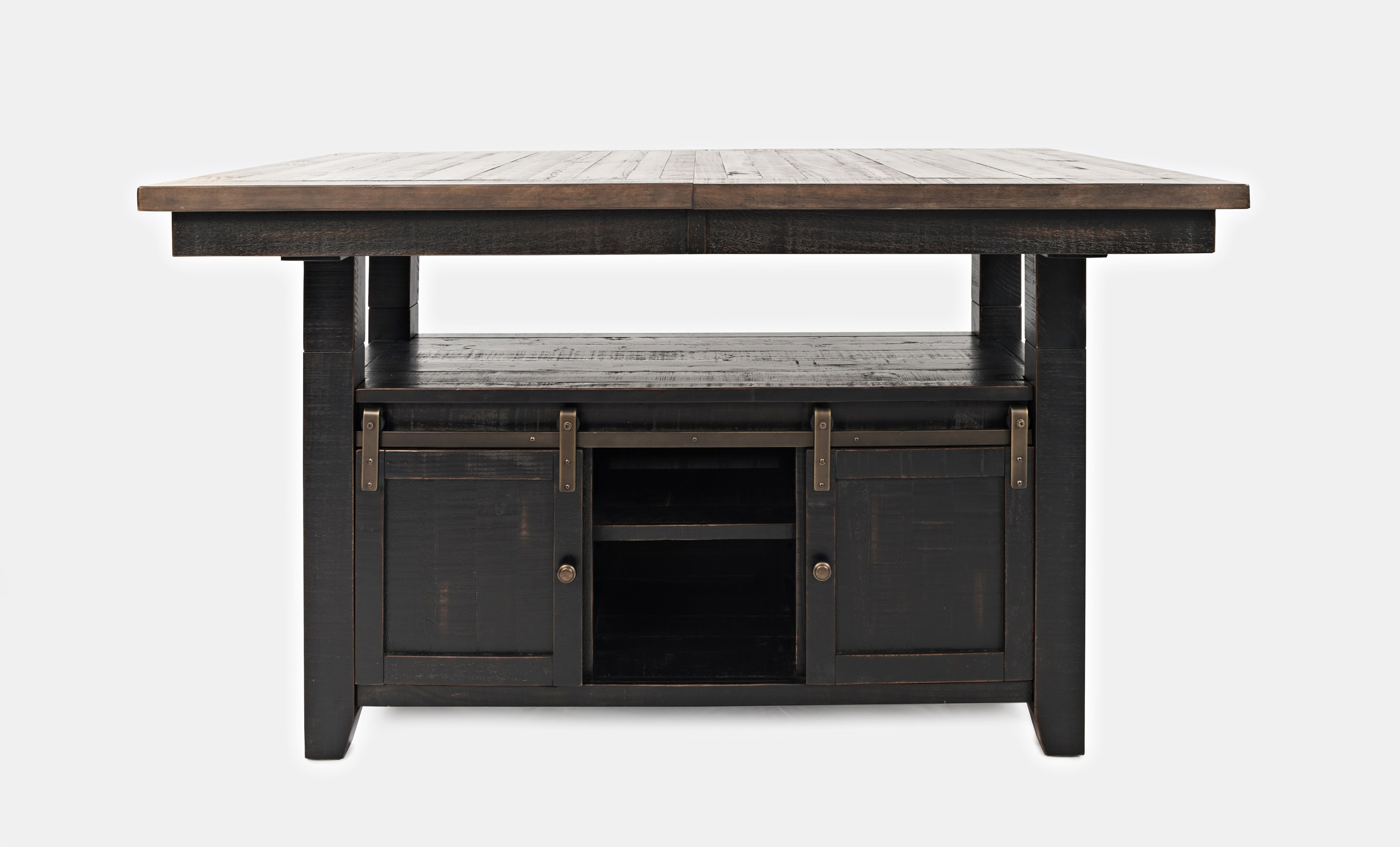 Madison County Adjustable Height Dining Table by Jofran at Jofran