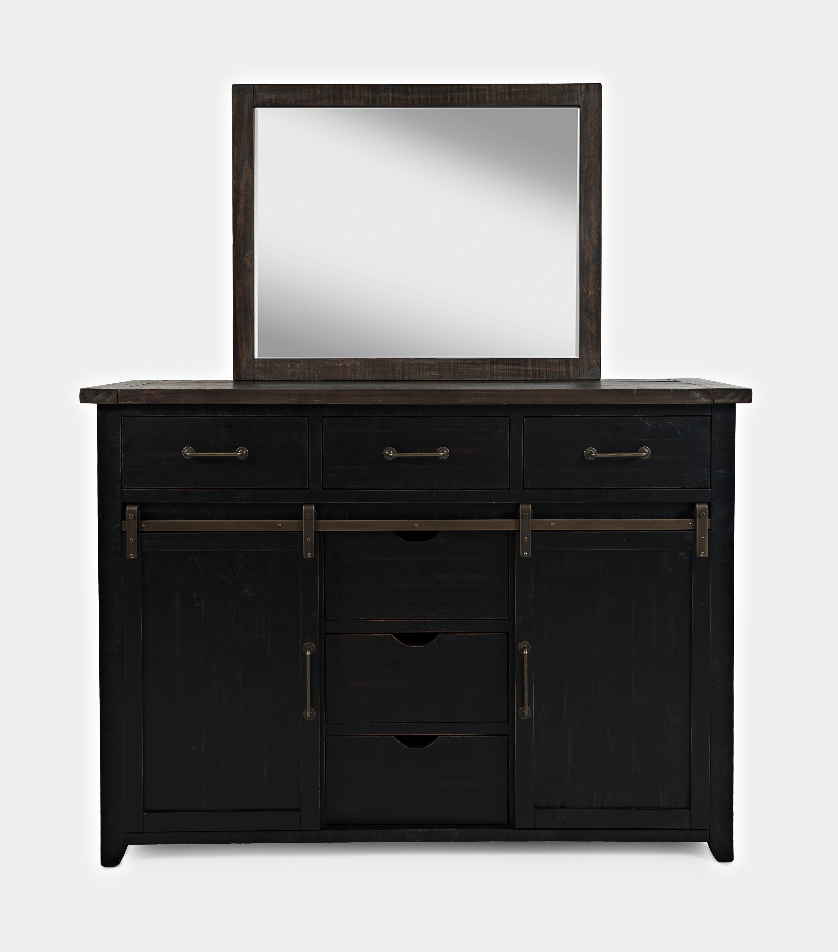 Madison County Dresser and Mirror by Jofran at Sparks HomeStore