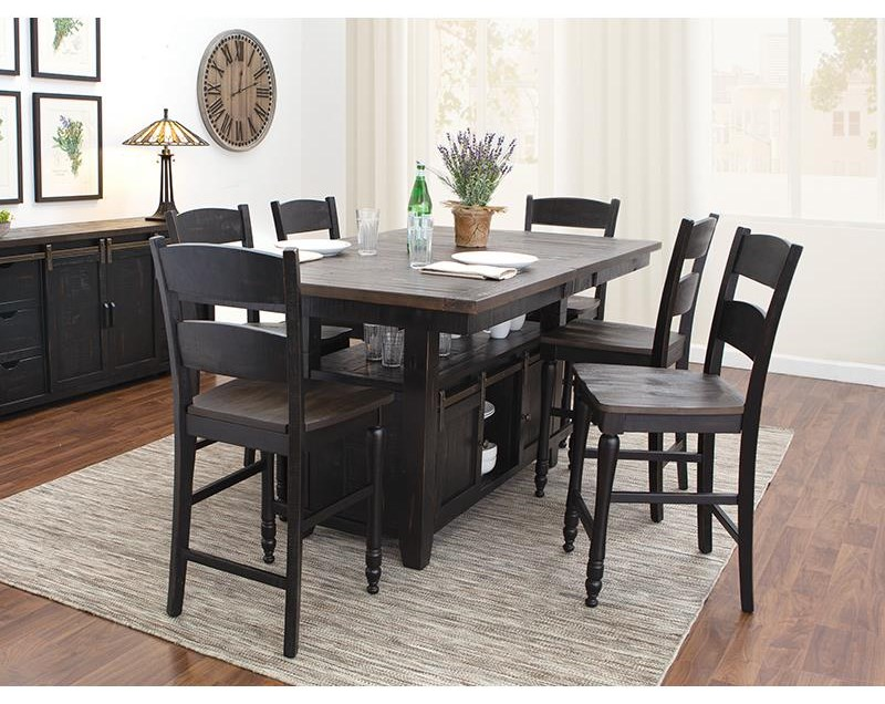 Madison County 5 Piece Counter Height Dining Set by Jofran at Darvin Furniture