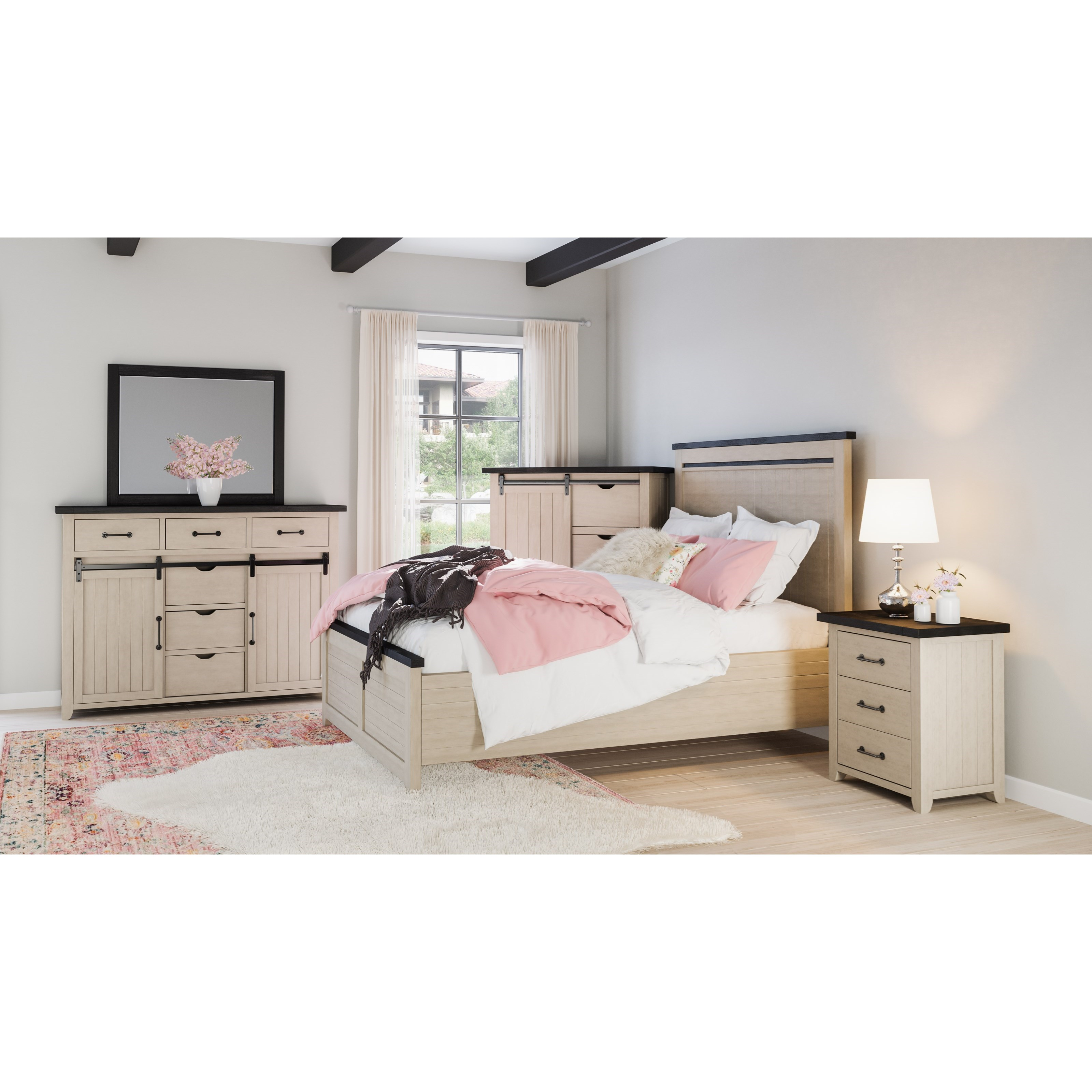 Morgan County Queen Bedroom Group by VFM Signature at Virginia Furniture Market