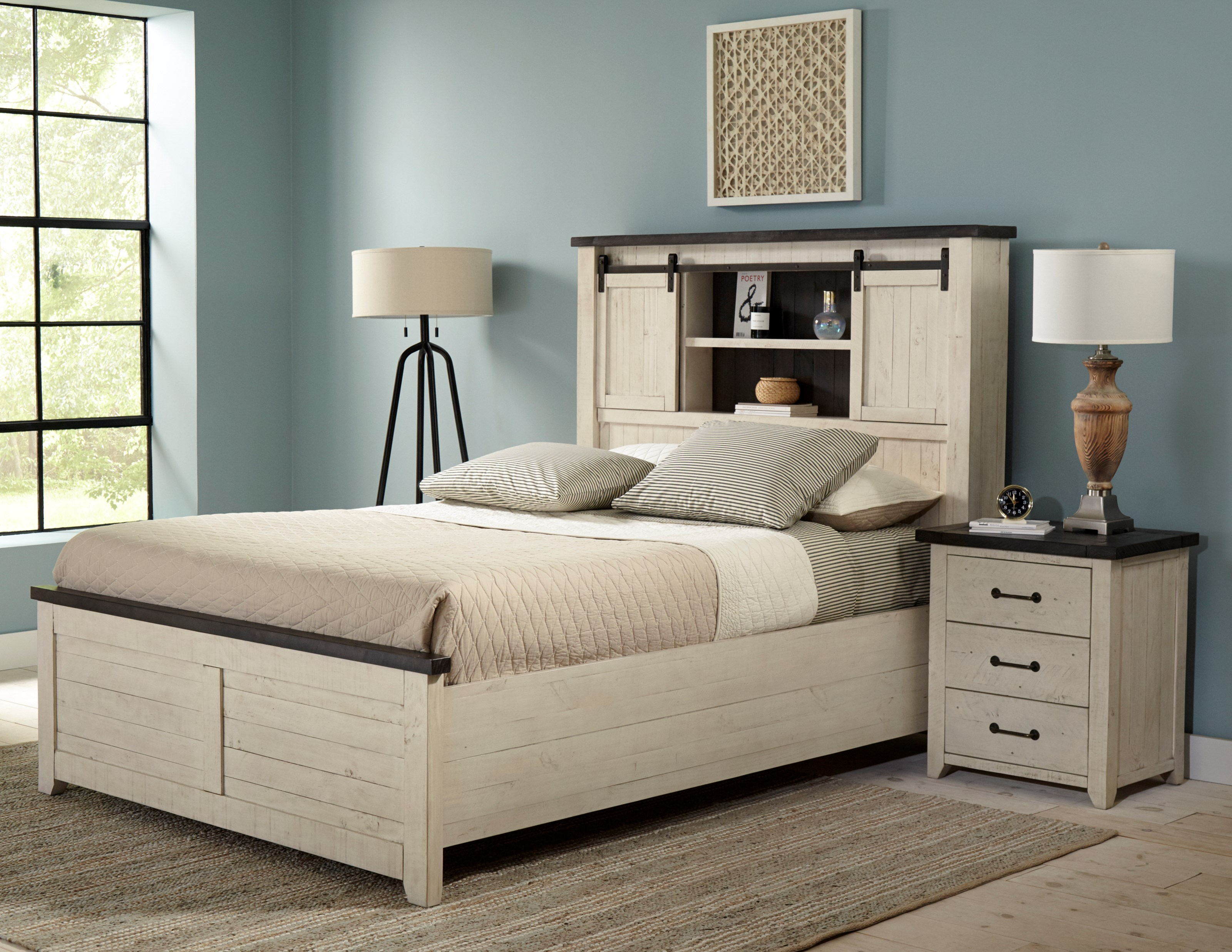 Madison County King Bedroom Group by Jofran at Jofran