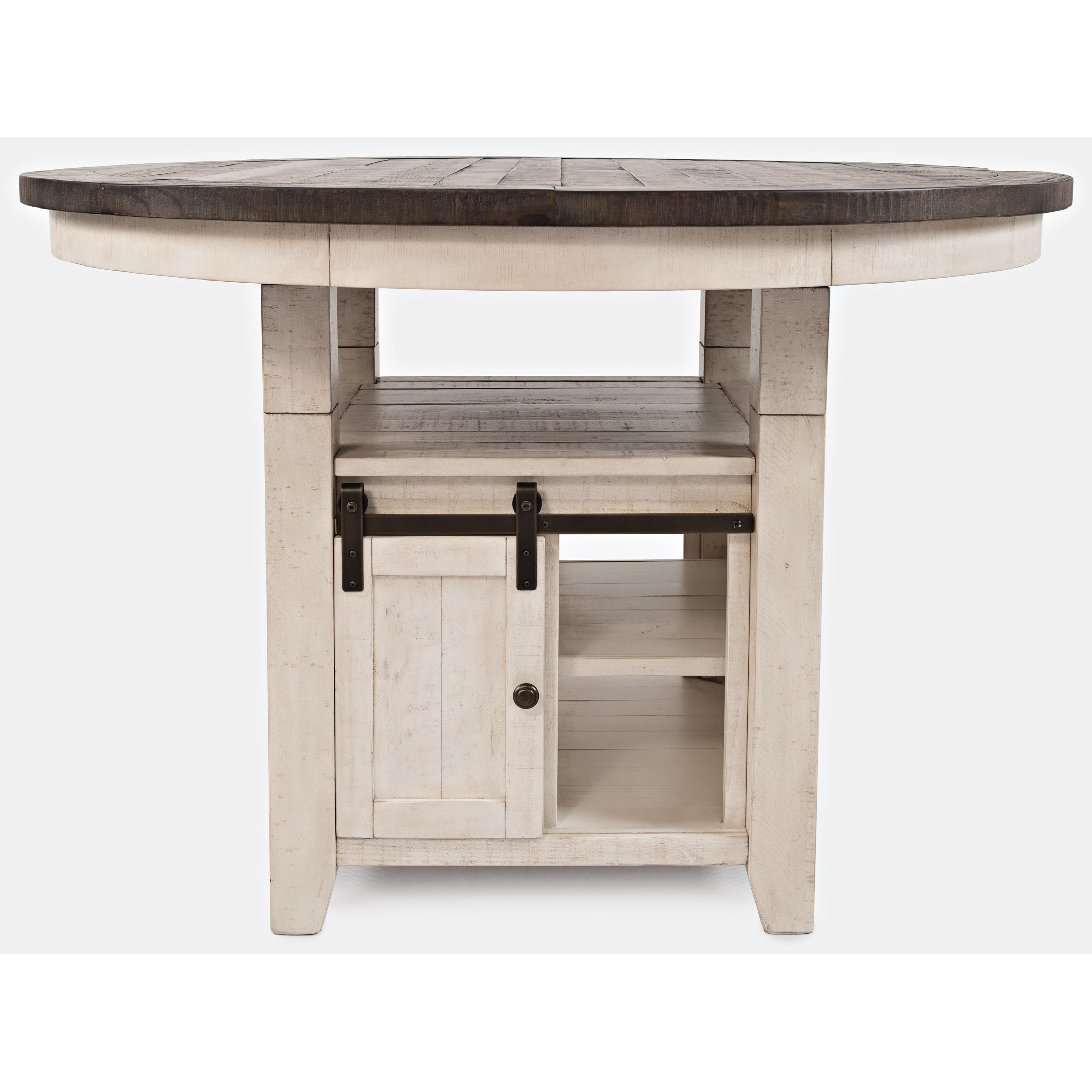 Madison County High/Low Round Dining Table by Jofran at Jofran