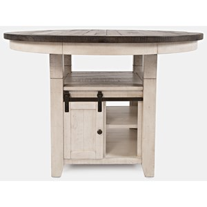 High/Low Round Dining Table