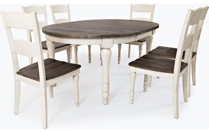 Madison County Five Piece Dining Set by Jofran at Rife's Home Furniture