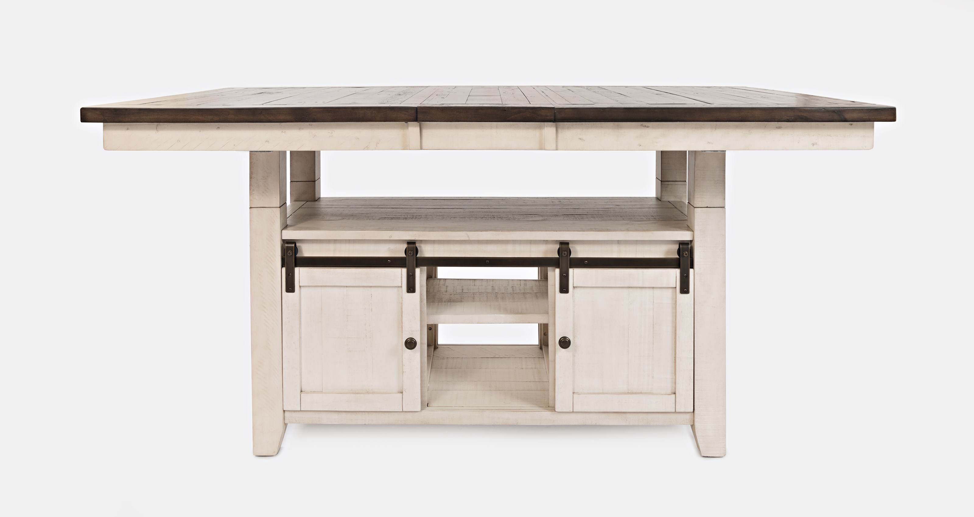 Madison County Adjustable Height Dining Table by Jofran at Beck's Furniture