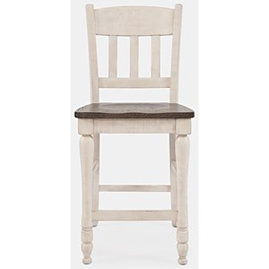 Slatback Counter Stool
