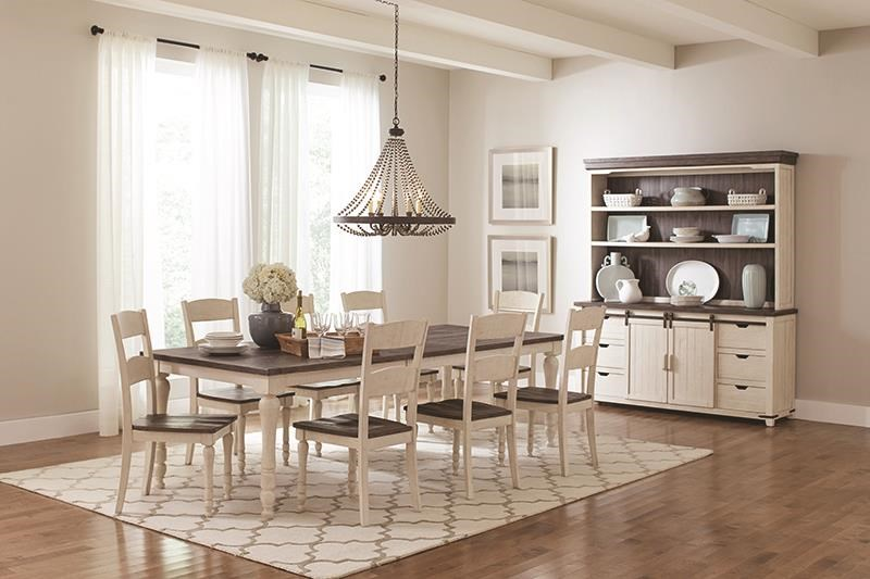 Madison County 5 Piece Dining Set Includes Table And 4 Side by Jofran at Darvin Furniture