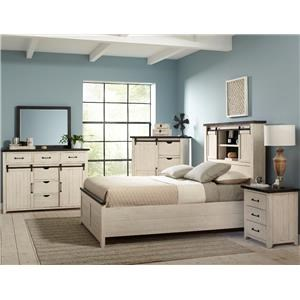 King Madison County Bedroom Group