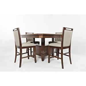 Counter Height Dining Set (4 People)