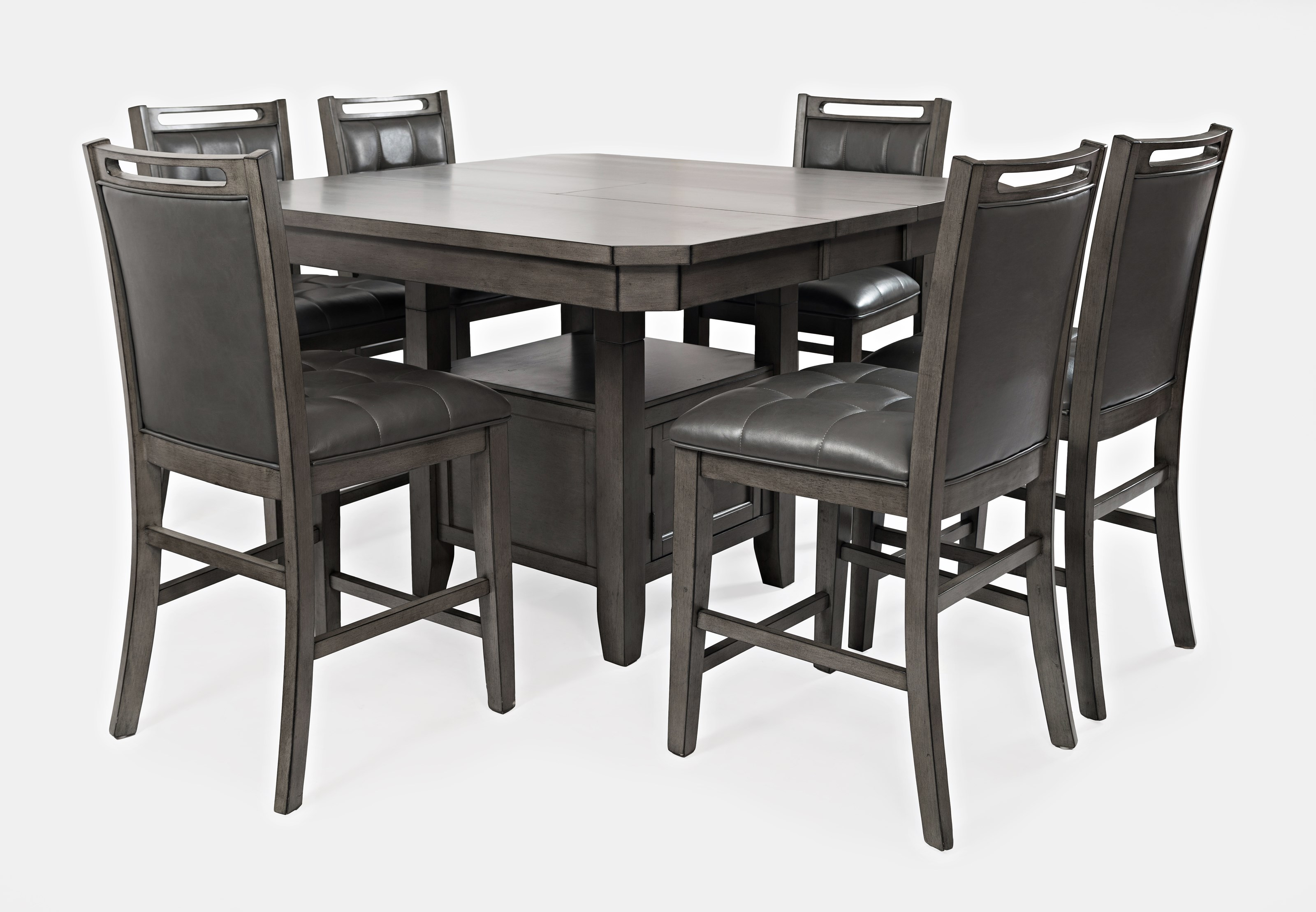 Manchester 7 Piece Counter Table and Chair Set by Jofran at Jofran