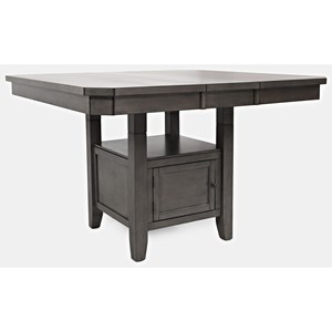 High/Low Square Dining Table