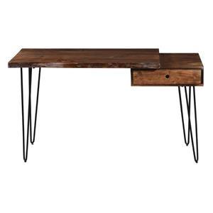 Natures Edge Desk With Drawer-Light Chesnut