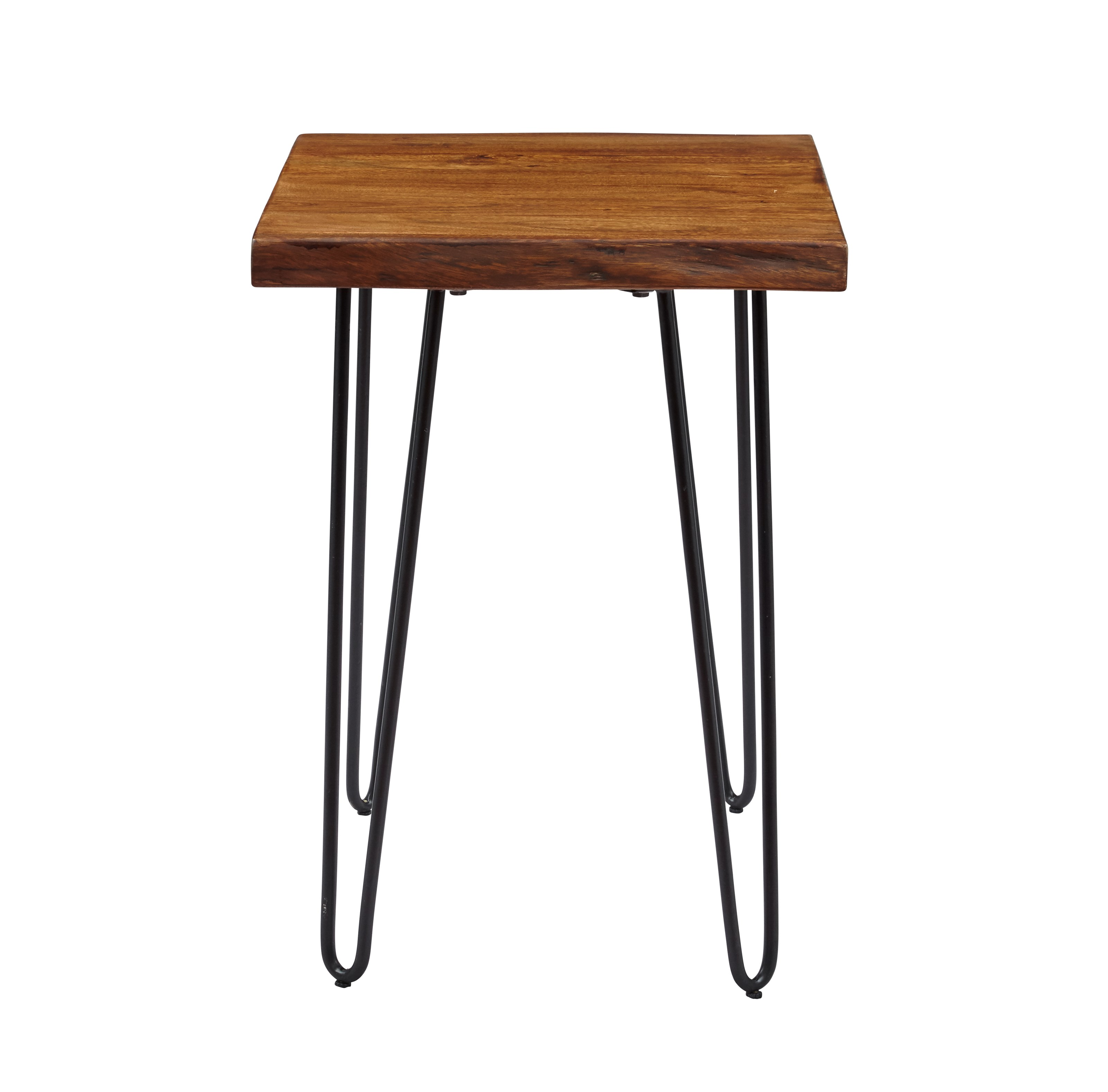 Nature's Edge Live Edge Chairside Table by Jofran at Mueller Furniture