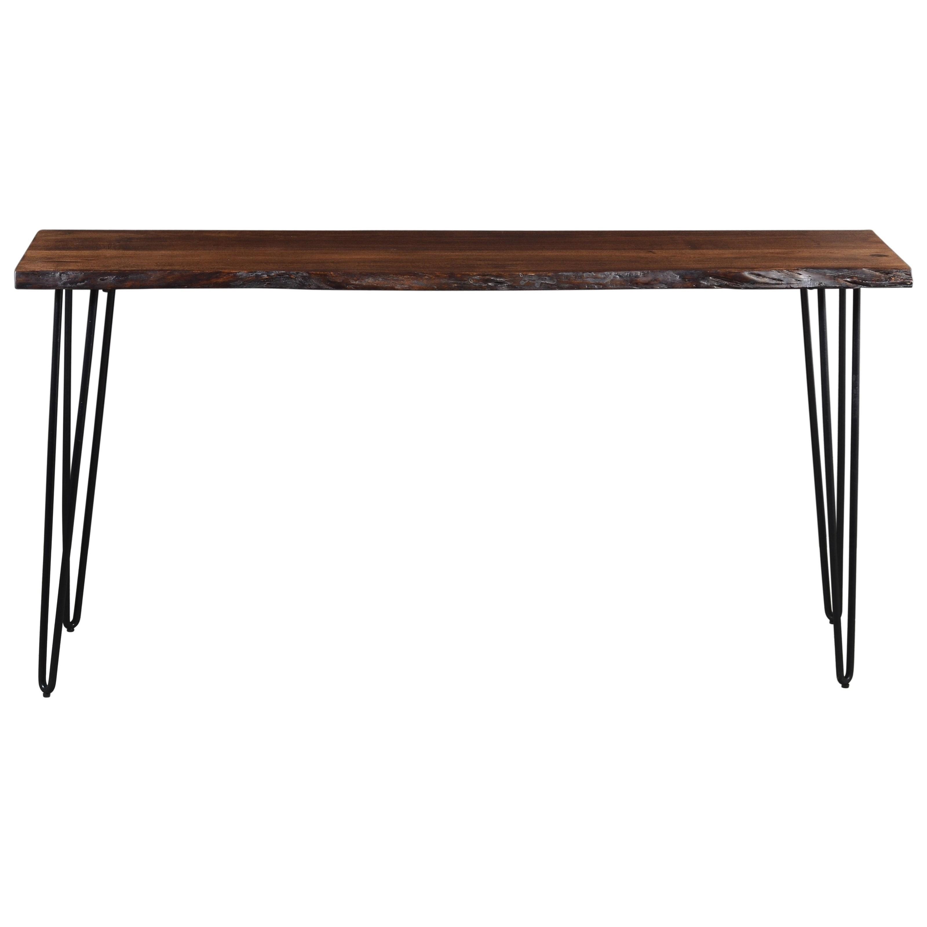 Nature's Edge Sofa Counter Dining Table by Jofran at Jofran