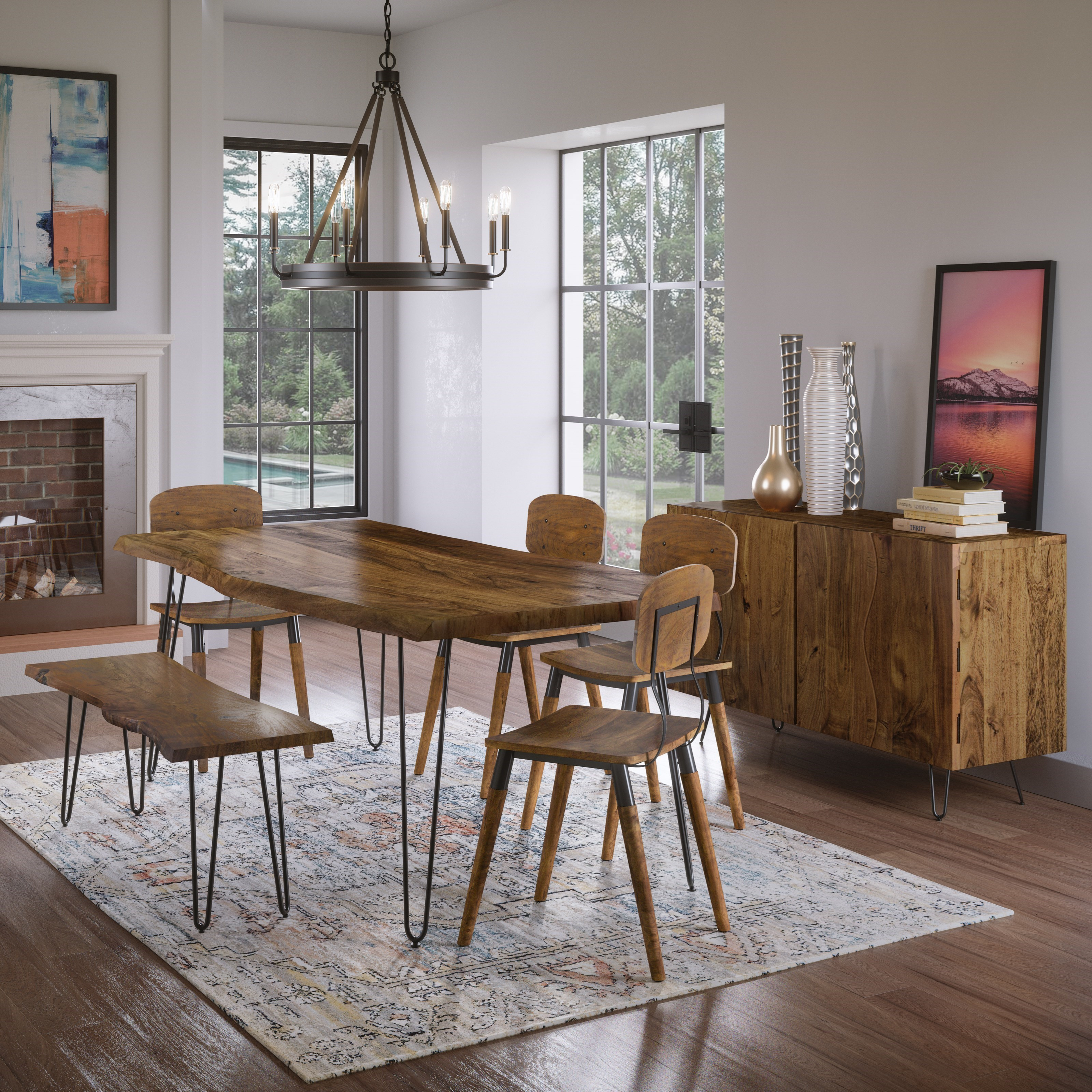 Nature's Edge Dining Room Group by Jofran at Jofran