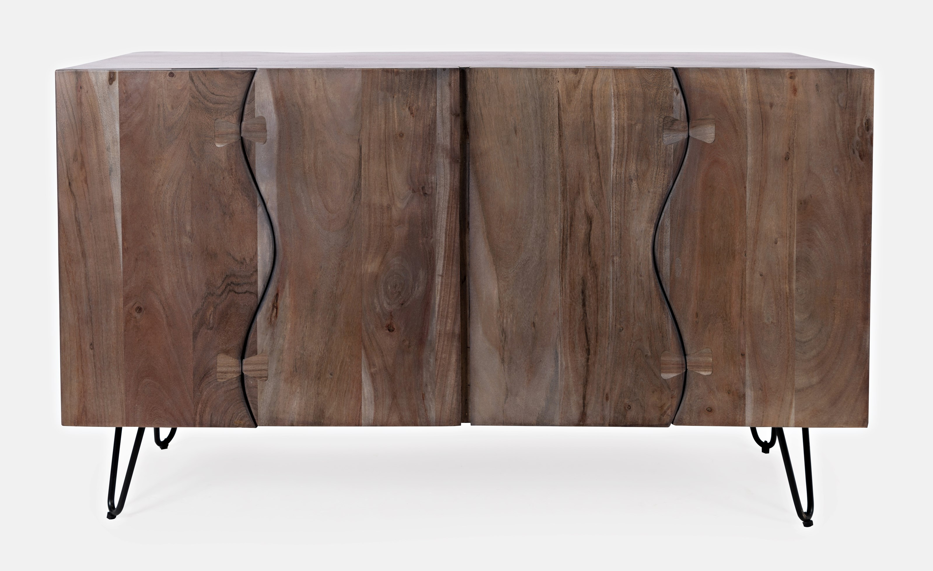 Nature's Edge Sideboard with 4 Live Edge Doors by Jofran at Sparks HomeStore