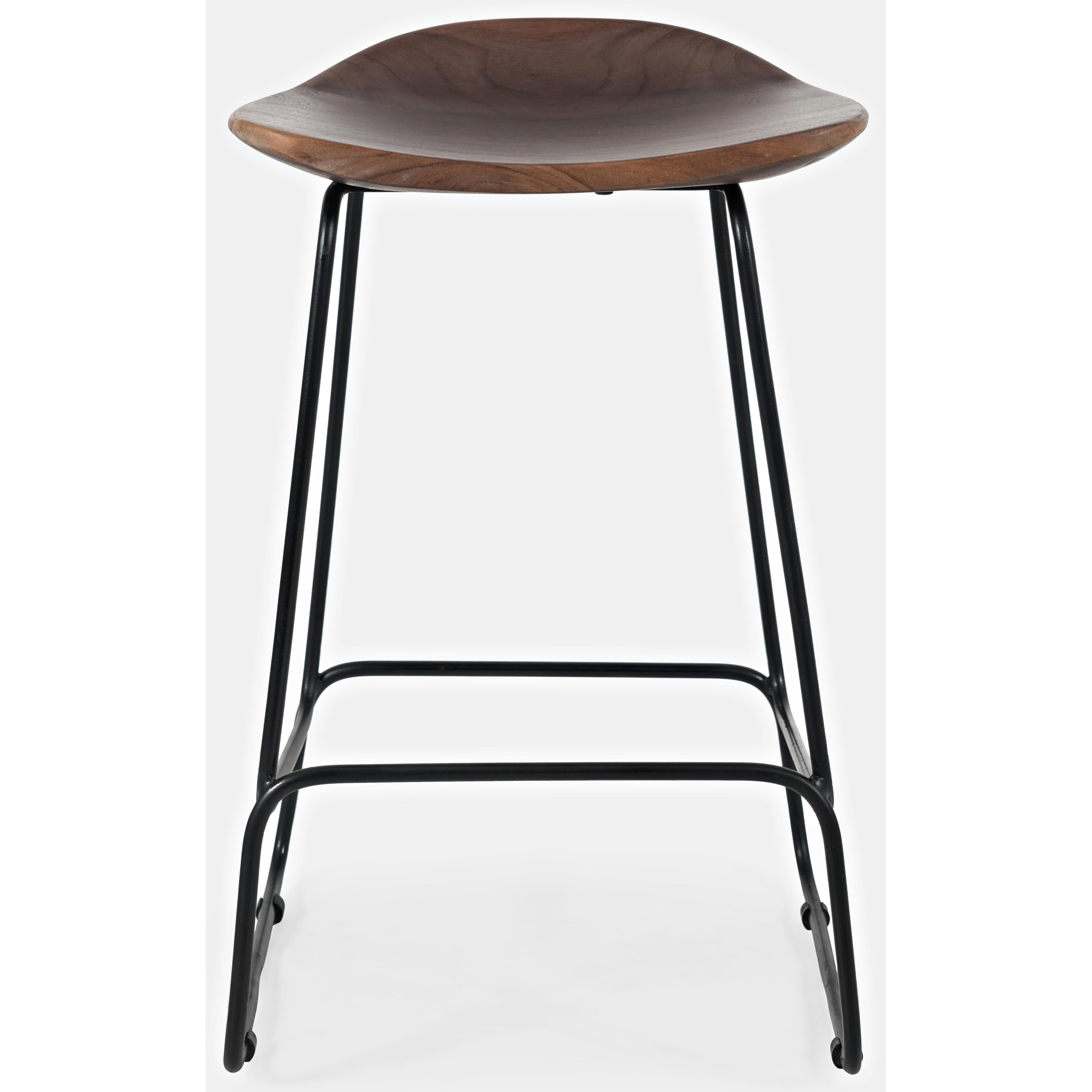 Live Edge live edge backless counter height bar stool at Walker's Furniture