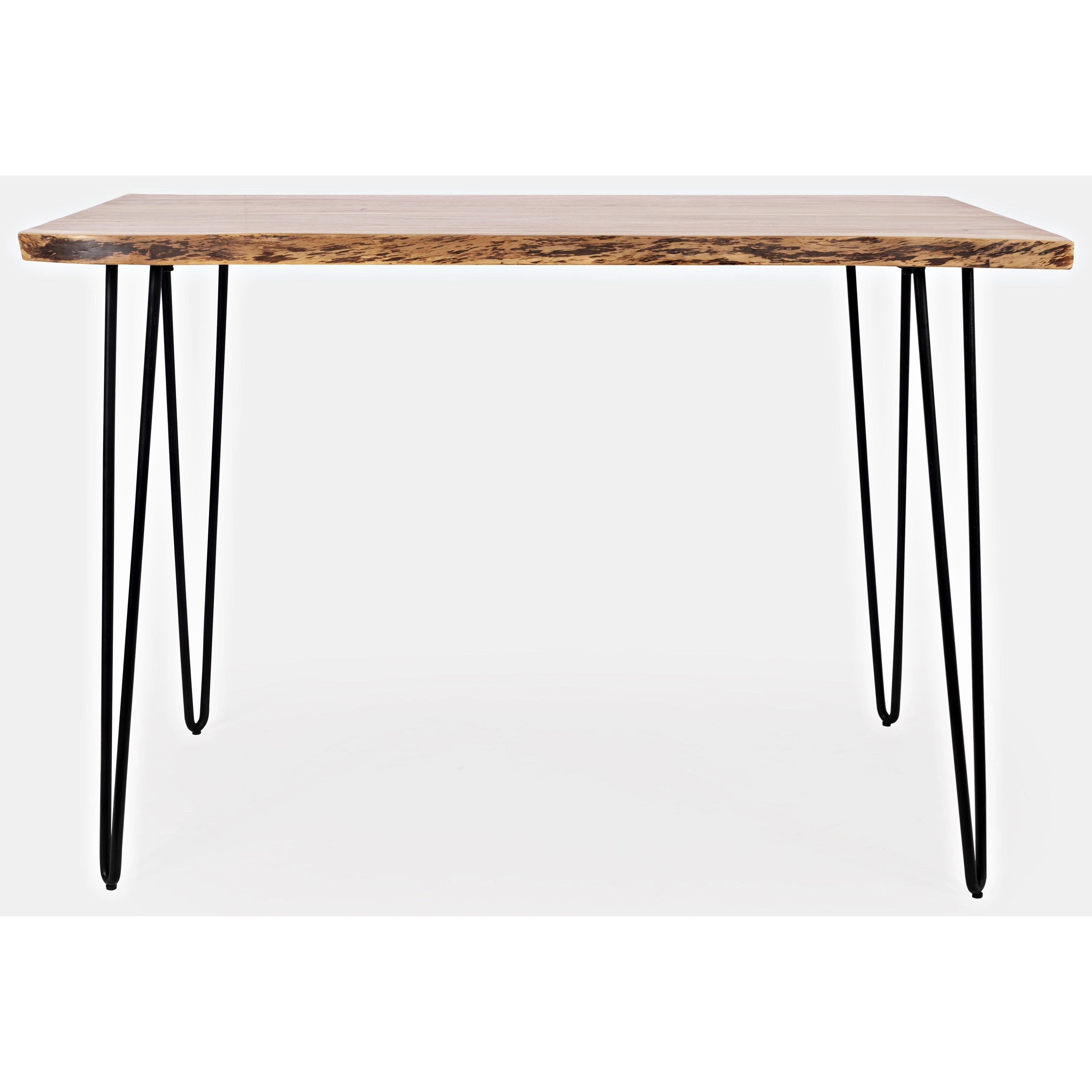 Live Edge Natural Live Edge Counter Height Table at Walker's Furniture