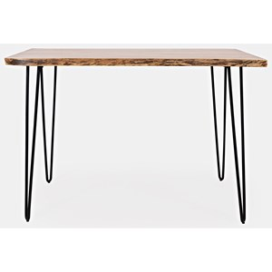 """Live Edge Counter Height Table 52"""""""