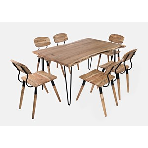 """60"""" Dining Table with 6 Chairs"""