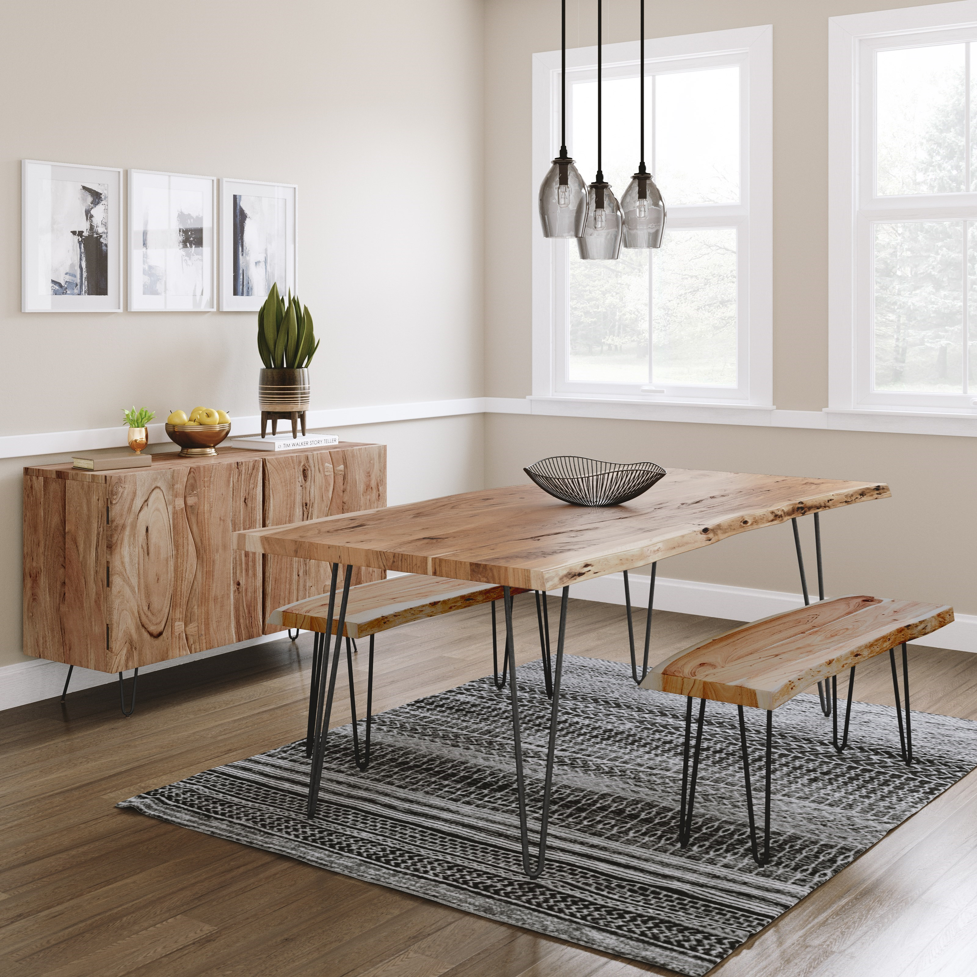 Nature's Edge Dining Room Group by Jofran at Mueller Furniture