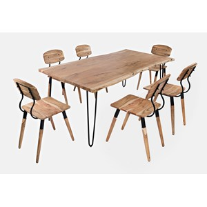 """79"""" Dining Table with 6 Chairs"""