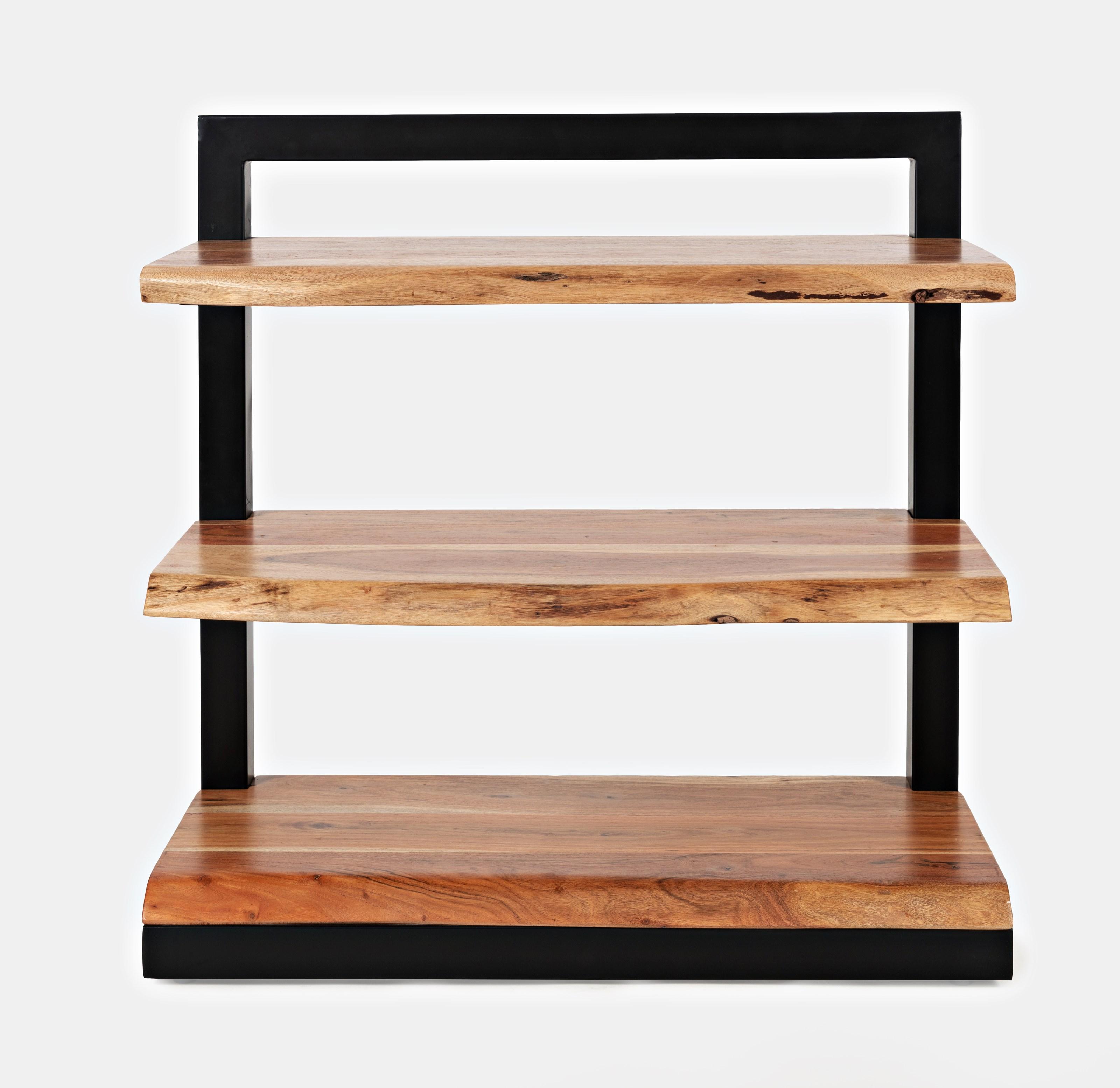 Nature's Edge 3 Shelf Bookcase by Jofran at Jofran