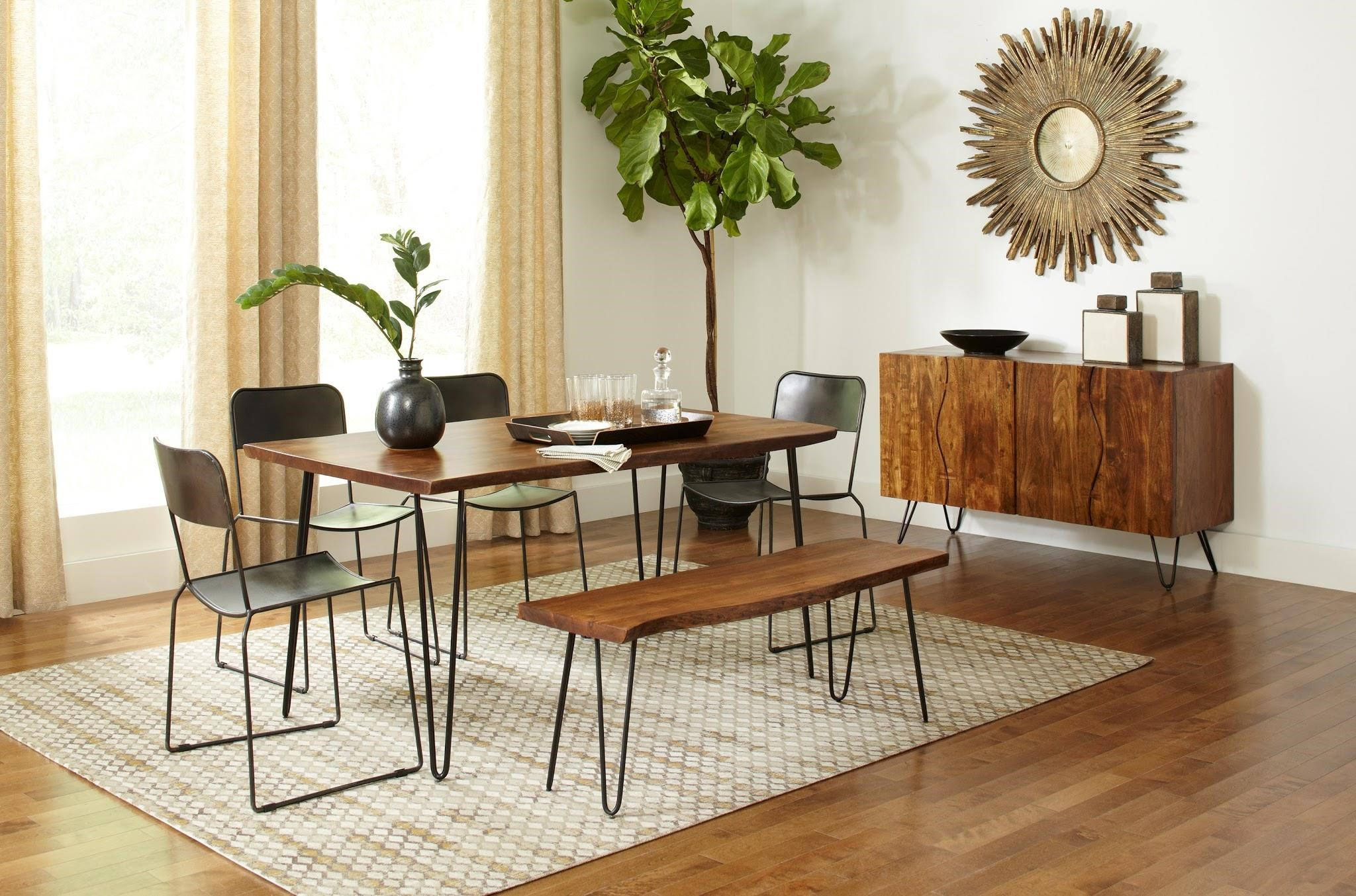 Nature's Edge 3 Piece Dining Package by Jofran at HomeWorld Furniture