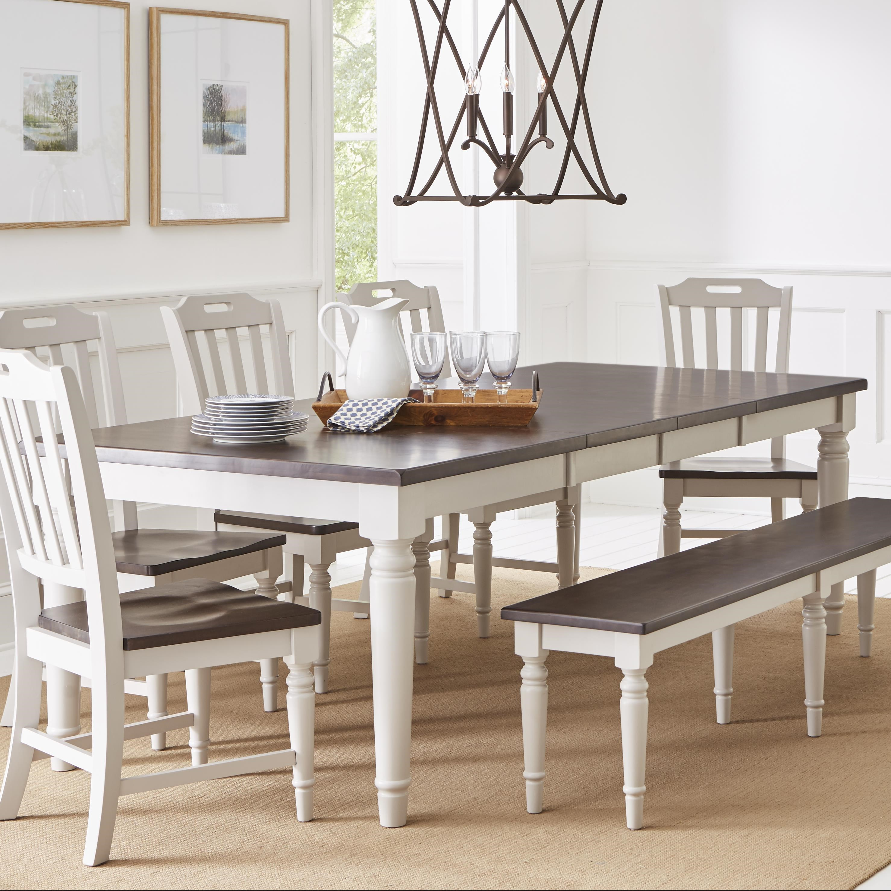 Orchard Park Rectangular Extension Table by Jofran at Darvin Furniture