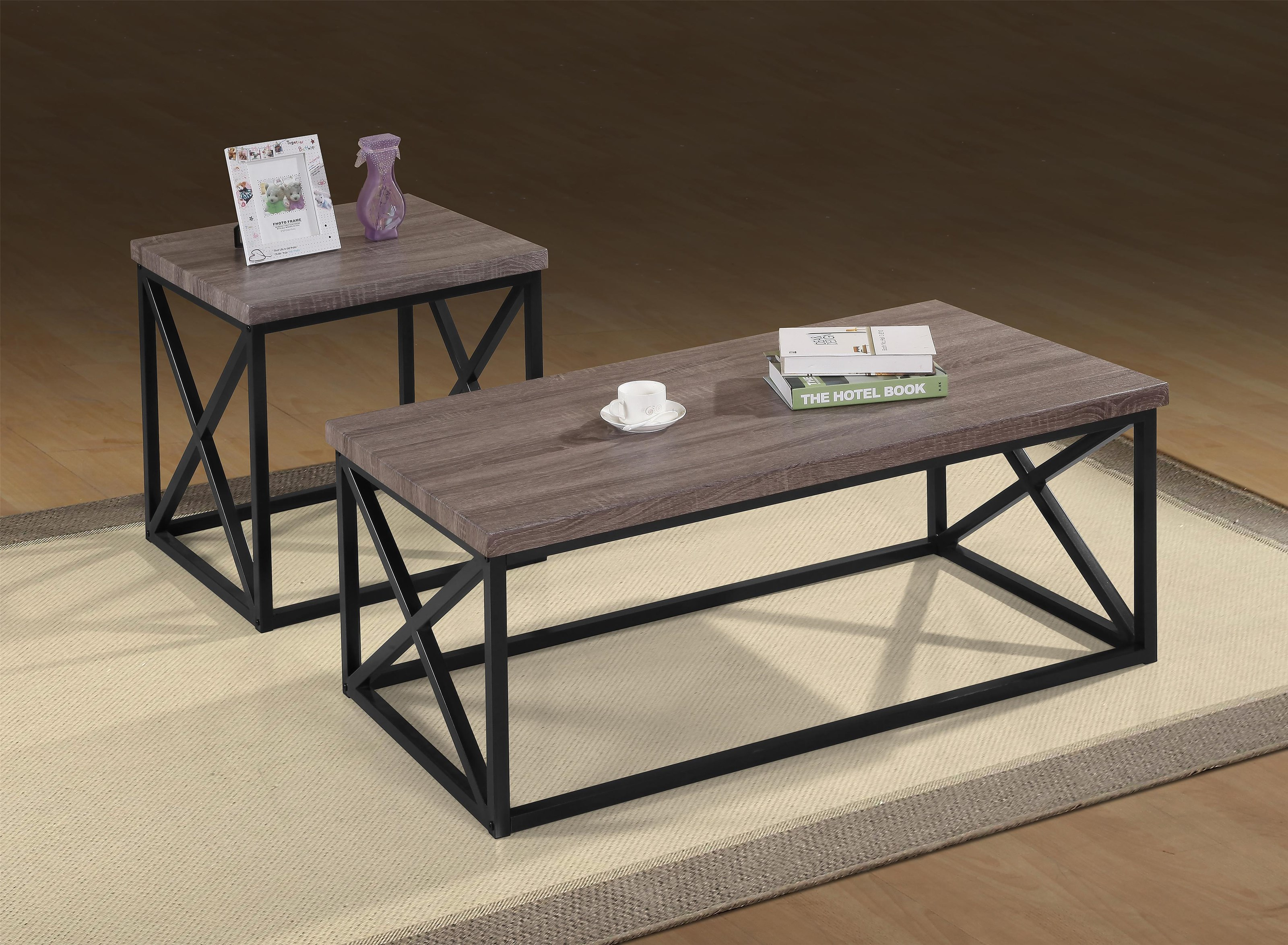 Oreon Trail Oreon Trail 3-Pack Tables by Jofran at Morris Home