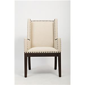 Jofran Pacific Heights Upholstered Side Chair