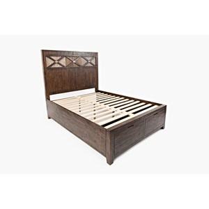 King Size Headboard & Footboard Storage Bed