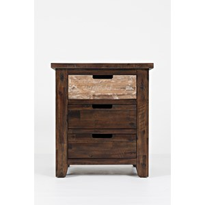 Jofran Painted Canyon Nightstand