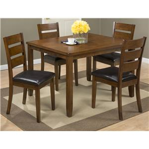 5 Pack- Table with 4 Chairs