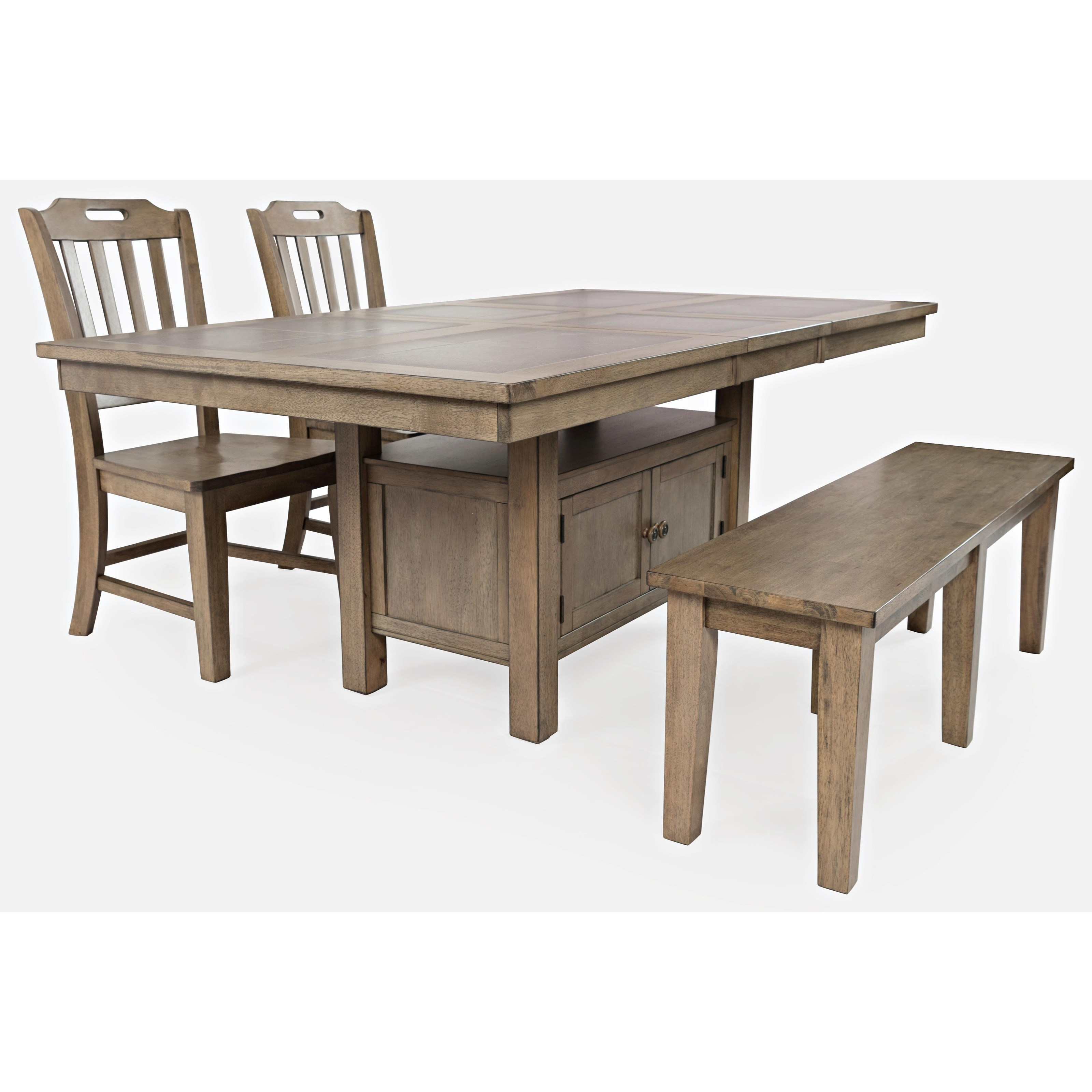 Prescott Park 4-Piece Dining Table and Chair Set by Jo Furniture Co. at Ruby Gordon Home