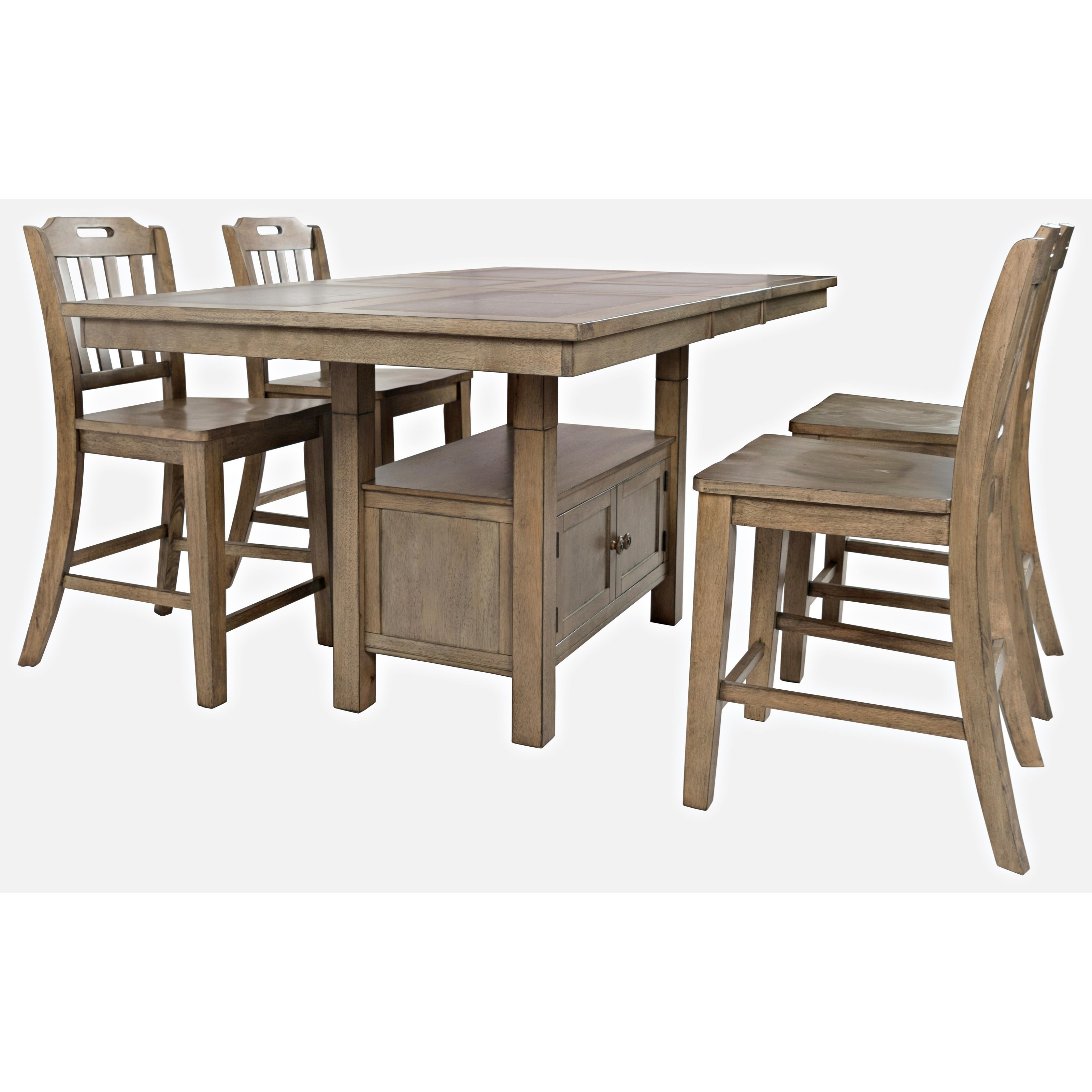 Prescott Park 5-Piece Dining Table and Chair Set by VFM Signature at Virginia Furniture Market