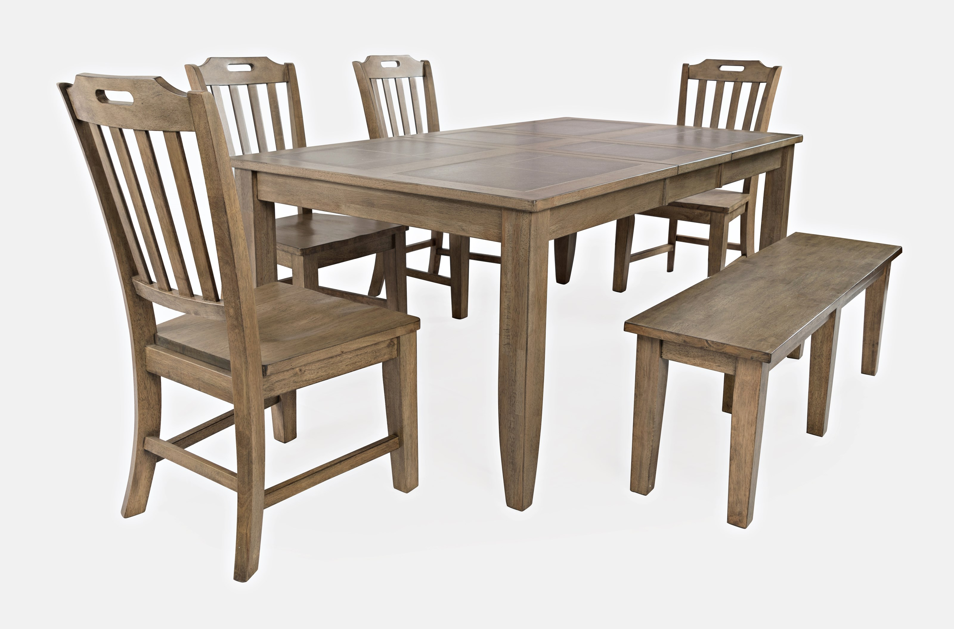 Prescott Park 6-Piece Dining Table and Chair Set by Jofran at Jofran